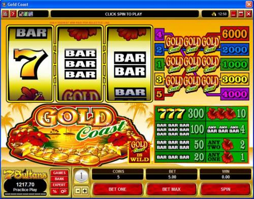 Gold Coast review on Big Bonus Slots