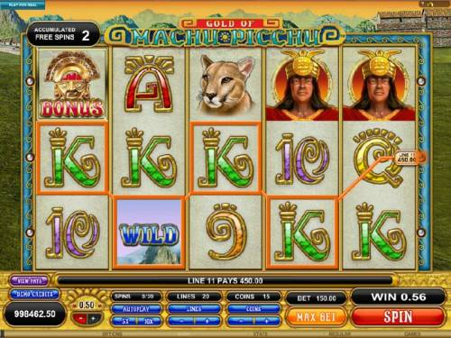 Gold Of Machu Picchu review on Big Bonus Slots