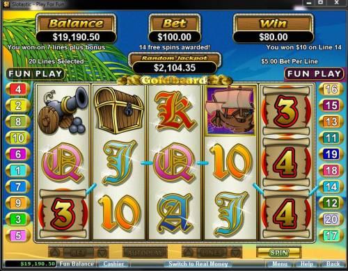 Goldbeard review on Big Bonus Slots