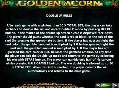 Golden Acorn review on Big Bonus Slots