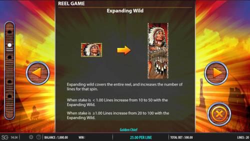 Golden Chief review on Big Bonus Slots
