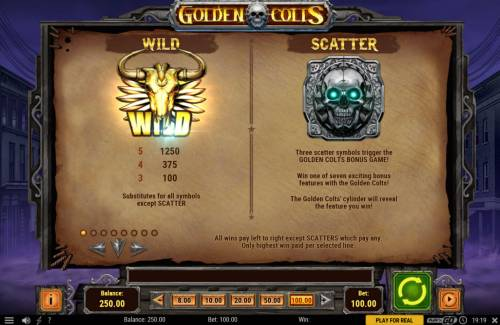 Golden Colts review on Big Bonus Slots