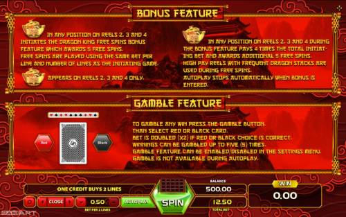Golden Dragon review on Big Bonus Slots