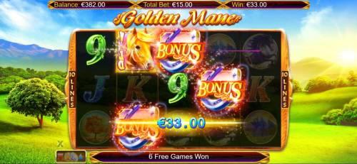 Golden Mane review on Big Bonus Slots