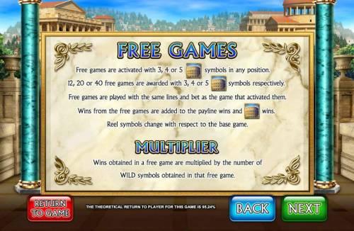 Golden Rome review on Big Bonus Slots