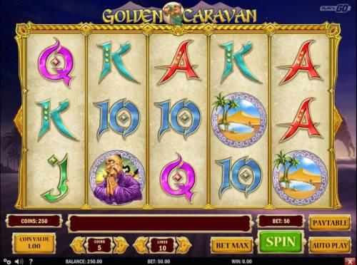 Golden Caravan review on Big Bonus Slots
