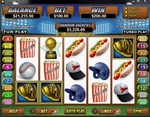 Golden Glove review on Big Bonus Slots