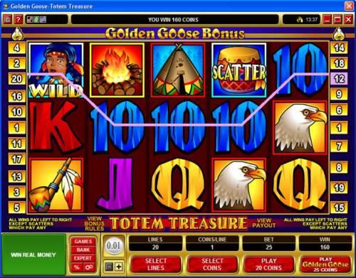 Golden Goose - Totem Treasure review on Big Bonus Slots