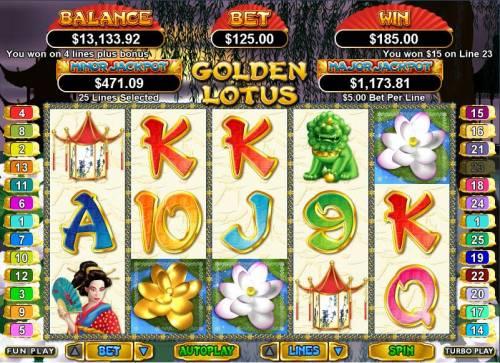Golden Lotus Big Bonus Slots Lotus Wilds