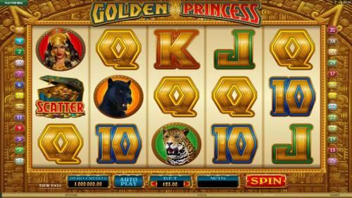 Golden Princess review on Big Bonus Slots