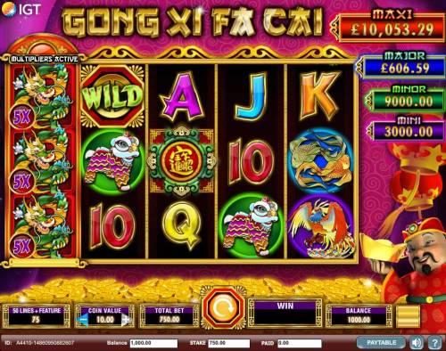 Gong Xi Fa Cai review on Big Bonus Slots
