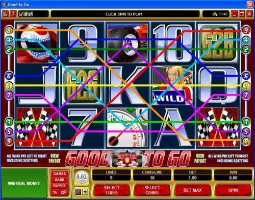 Good To Go review on Big Bonus Slots