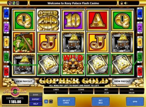 Gopher Gold review on Big Bonus Slots