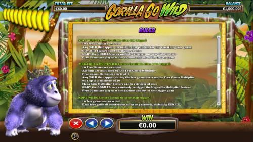 Gorilla Go Wild review on Big Bonus Slots
