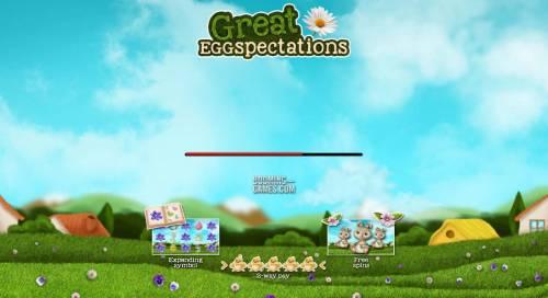 Great Eggspectations review on Big Bonus Slots