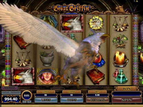Great Griffin review on Big Bonus Slots