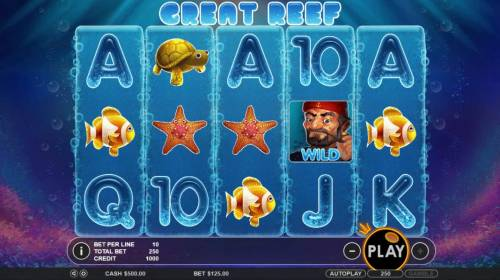 Great Reef review on Big Bonus Slots