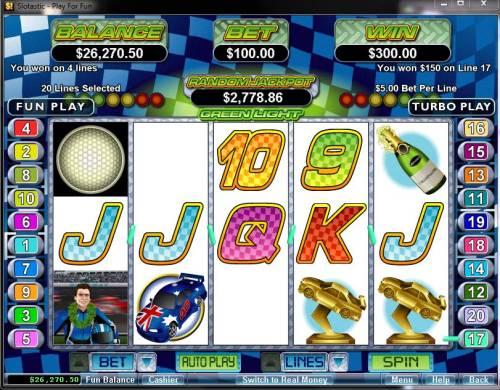 Green Light review on Big Bonus Slots