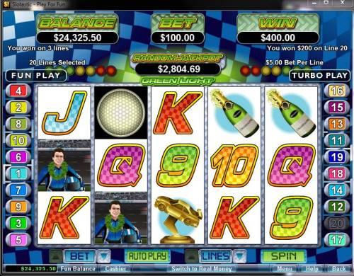 Green Light Big Bonus Slots