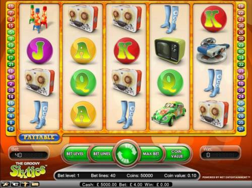 Groovy Sixties review on Big Bonus Slots