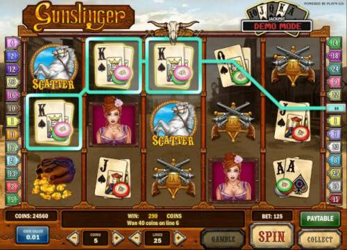 Gunslinger review on Big Bonus Slots