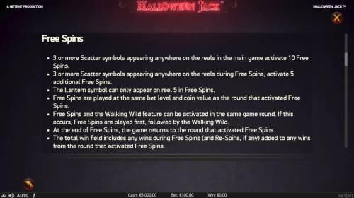 Halloween Jack review on Big Bonus Slots