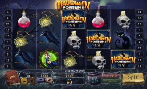 Halloween Fortune review on Big Bonus Slots