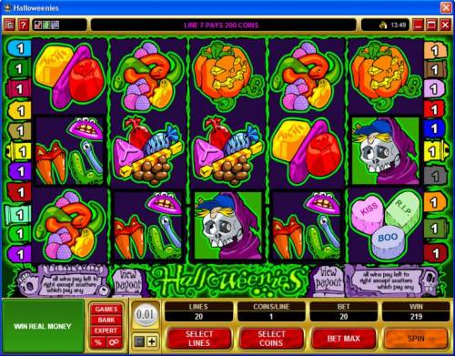 Halloweenies review on Big Bonus Slots