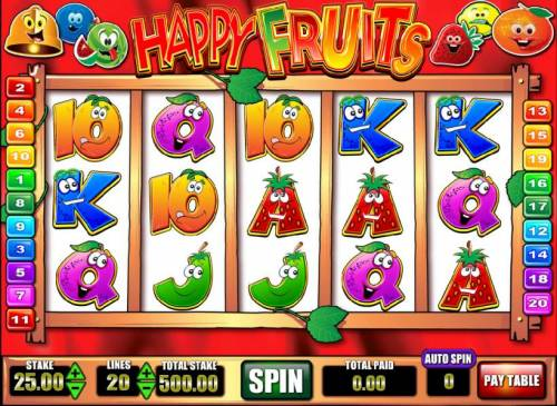 Happy Fruits review on Big Bonus Slots