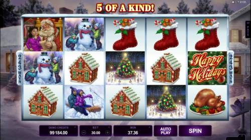 Happy Holidays review on Big Bonus Slots