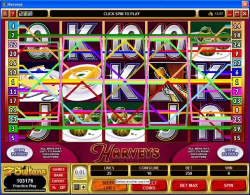 Harveys review on Big Bonus Slots