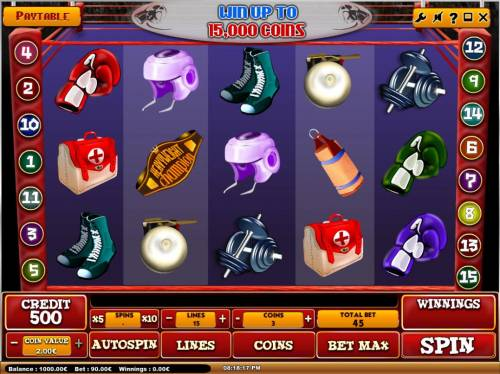 Heavyweight Champion review on Big Bonus Slots