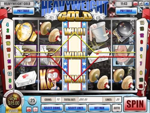 Heavyweight Gold review on Big Bonus Slots