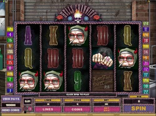 Hells Grannies review on Big Bonus Slots