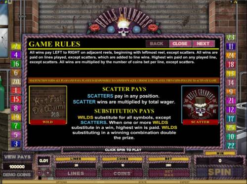 Hells Grannies review on Big Bonus Slots