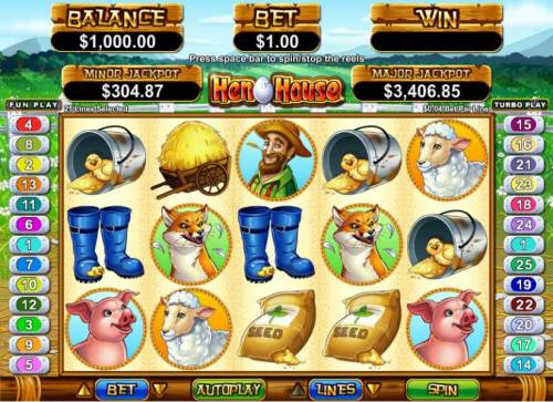 Hen House review on Big Bonus Slots