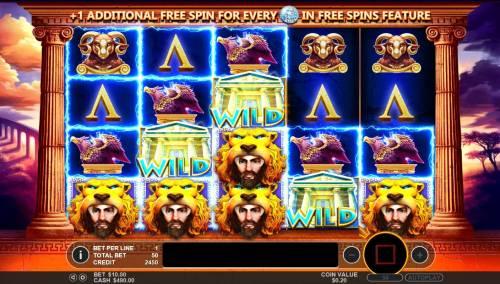 Hercules Son of Zeus review on Big Bonus Slots