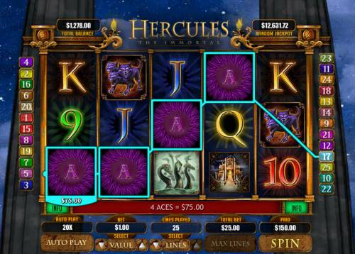 Hercules the Immortal review on Big Bonus Slots