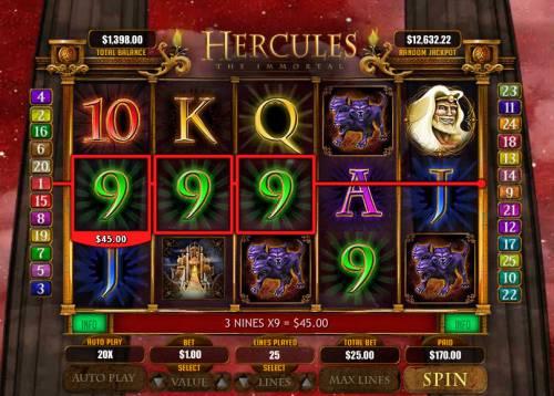 Hercules the Immortal review on Big Bonus Slots