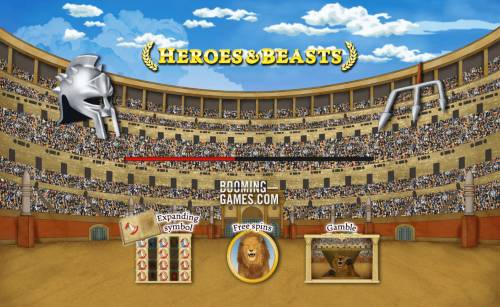 Heroes and Beasts review on Big Bonus Slots