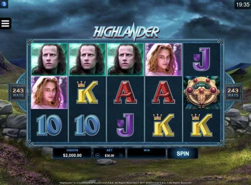 Highlander review on Big Bonus Slots
