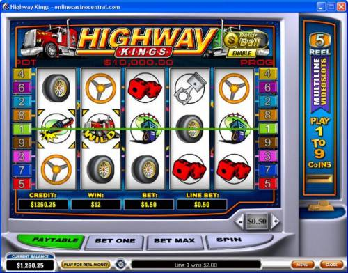 Highway Kings review on Big Bonus Slots