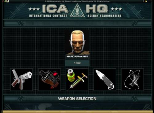 Hitman review on Big Bonus Slots
