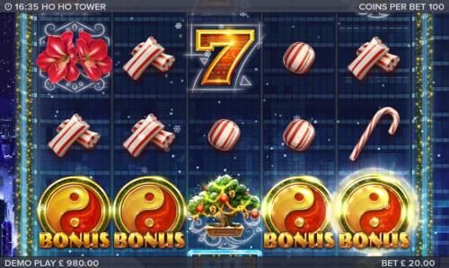 Ho Ho Tower review on Big Bonus Slots