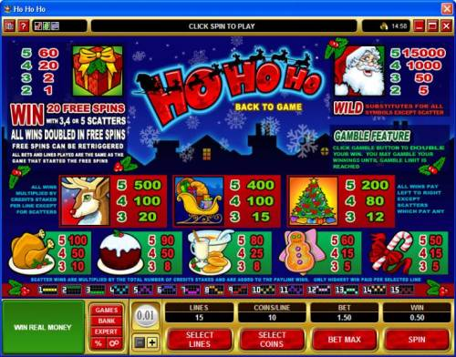 Ho Ho Ho review on Big Bonus Slots