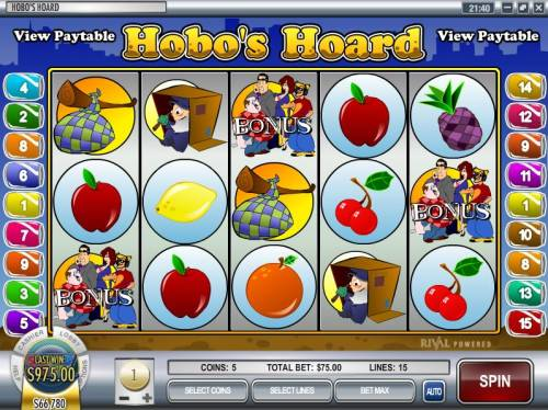Hobo's Hoard Big Bonus Slots