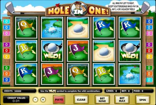 Hole in One! review on Big Bonus Slots