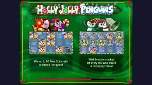 Holly Jolly Penguins review on Big Bonus Slots