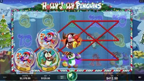 Holly Jolly Penguins review on Big Bonus Slots