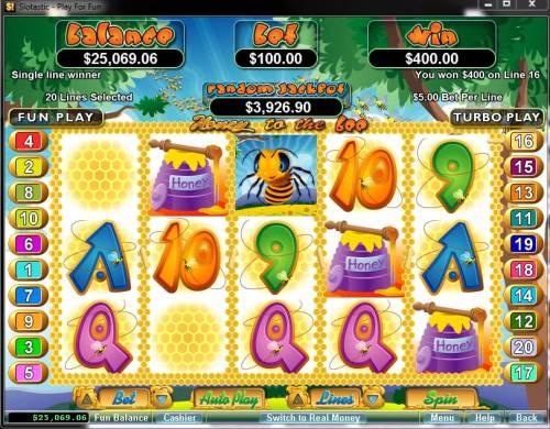 Honey To The Bee Big Bonus Slots